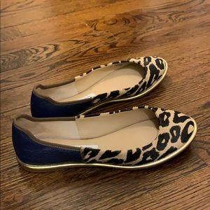 Diane Von Furstenberg leopard flats